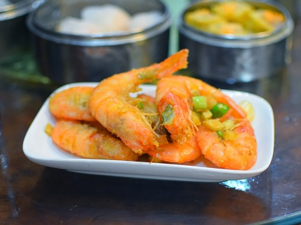 Mandarin Kitchen, Fried shrimp