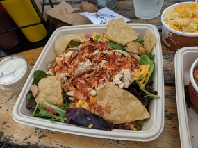 OMC Smokehouse, BBQ ranch salad