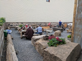 OMC Smokehouse, Patio seating
