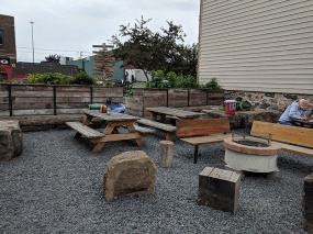 OMC Smokehouse, Patio seating2