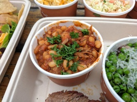 OMC Smokehouse, Pork and beans