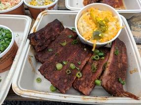 OMC Smokehouse, St. Louis style ribs