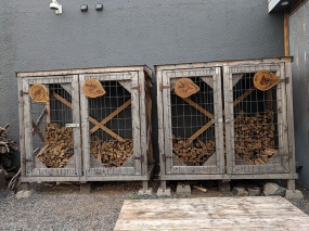 OMC Smokehouse, Wood for the smoker
