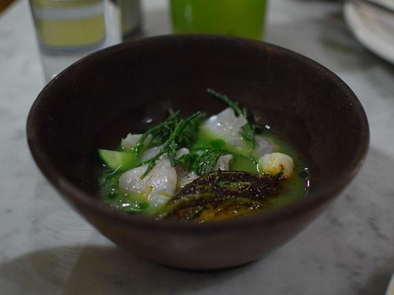Quetzal, Ceviche mixto uncovered
