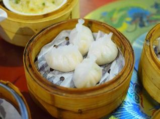 Rosewood, Shrimp, coriander dumpling