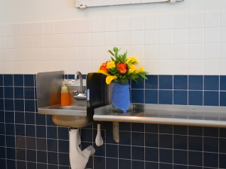 Tenant 2, Sink, flowers