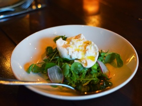 Young Joni, Burrata and English Peas