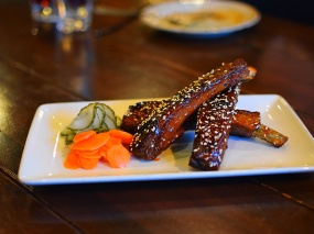 Young Joni, Sweet and Spicy Pork Ribs