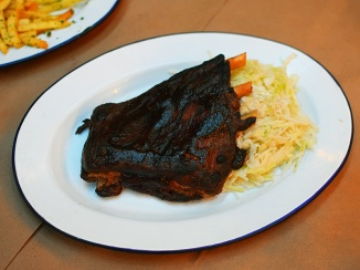 Baby Wale, Grilled Pork Ribs