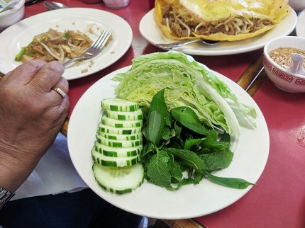 Cheng Heng, Banh cheo, veg