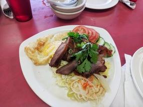 Cheng Heng, Roast pork over rice