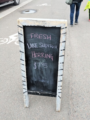 Dockside Fish & Seafood Market, Fresh Lake Superior Herring