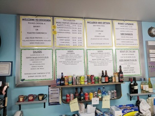 Dockside Fish & Seafood Market, Menu