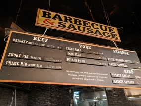 Hill Country, Meat menu