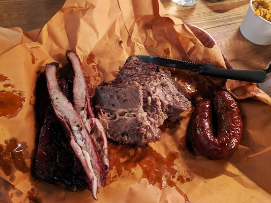 Hill Country, Meat unwrapped