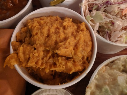 Hill Country, Sweet potato bourbon mash
