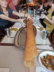 Thanjai, 6 foot dosa2