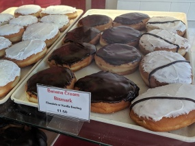 World's Best Donuts, Banana cream bismark