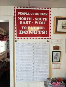World's Best Donuts, North South East West