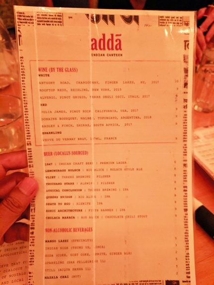 Adda, Wine and beer