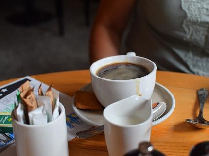 Empire Diner, Coffee