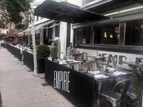 Empire Diner, Empire