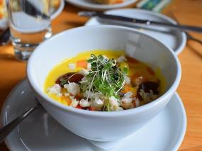 Empire Diner, Melon gazpacho