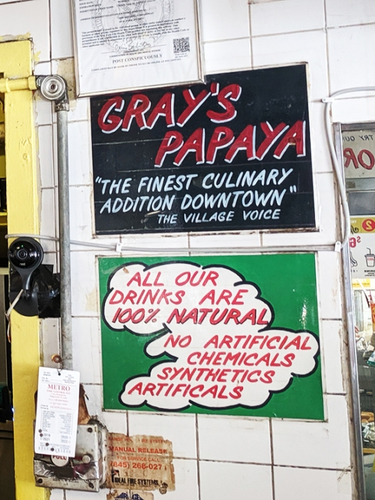 Gray's Papaya, 100% Natural