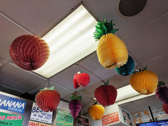 Gray's Papaya, Fruit!