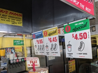 Gray's Papaya, Specials