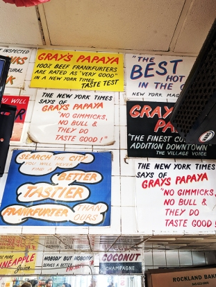 Gray's Papaya, The best