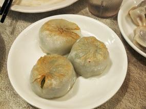 Nom Wah, Pan Fried Shrimp and Chive Dumplings