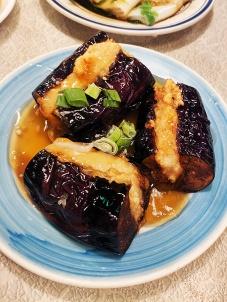 Nom Wah, Stuffed Eggplant