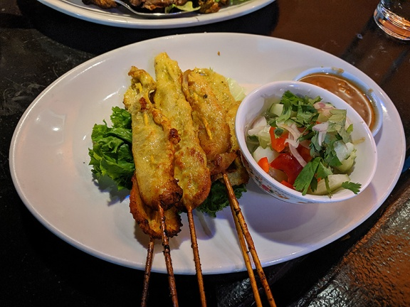 On's Kitchen 4, Chicken Satay