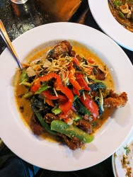 On's Kitchen 4, Spicy Catfish Stir-Fried