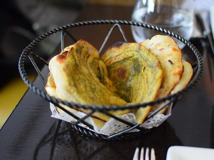 Rasika, Bread basket