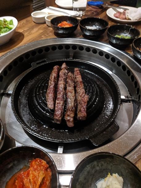 Yoon Haenundae Galbi, Grilled