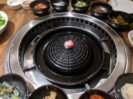 Yoon Haenundae Galbi, Preparing the grill
