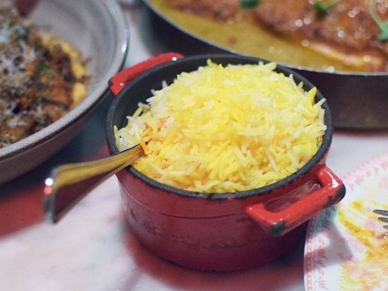 Baar Baar, Saffron rice