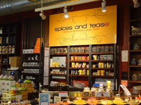 Chelsea Market, Spices and Tease