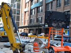 Chelsea Market, Street construction