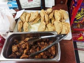 El Triunfo 2019, Chicharrones, tacos dorados