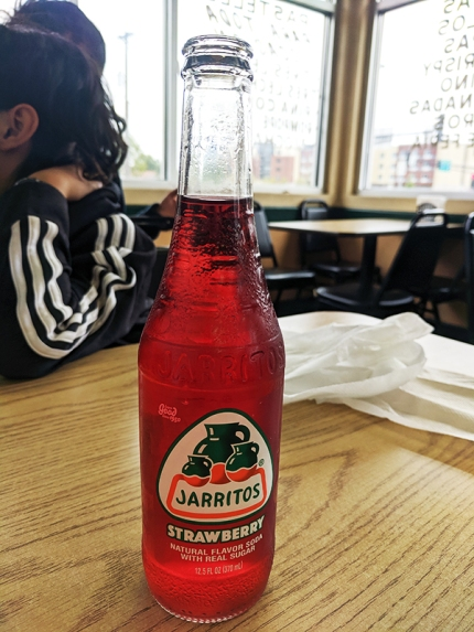 El Triunfo 2019, Jarritos, strawberry