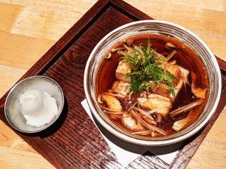 Ippudo Ramen, Agedashi tofu, overhead
