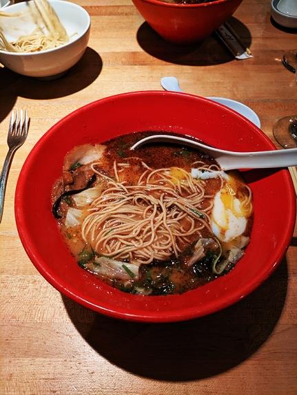Ippudo Ramen, Akamaru shinaji, mixed