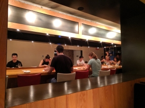 Ippudo Ramen, Ramen counter