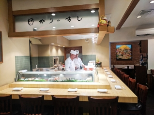 Sushi of Gari, Sushi bar, chefs