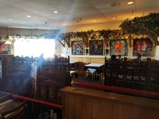 Tandoor, Larger dining area