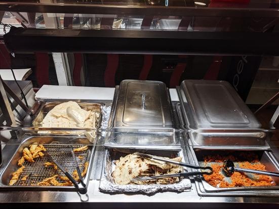 Tandoor, Naans, fried things, dessert