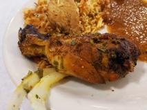 Tandoor, Tandoori chicken, close-up